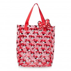 Пляжна сумочка в смужку з Мінні Маус