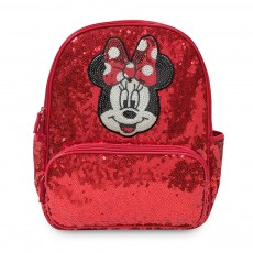 Школьный рюкзак Минни Маус с красными пайетками