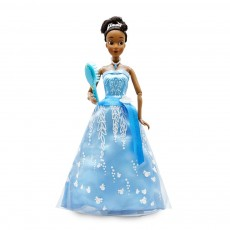 Кукла Тиана в платье с подсветкой - Принцесса и лягушка