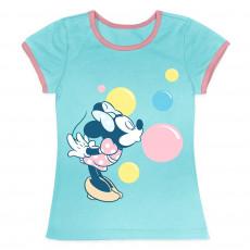 Минни Маус звук пузырей - футболка для девочек