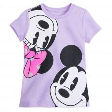 Міккі і Мінні - футболка для дівчаток