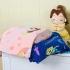 Флисовый плед Белль, Золушка и Спящая красавица
