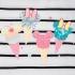 Міккі і Мінні Маус - футболка з блискучим морозивом для дівчаток