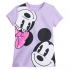 Микки и Минни - футболка для девочек