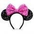 Ободок с ушками Минни Маус для детей - розовый
