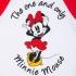 Минни Маус - футболка с длинным рукавом